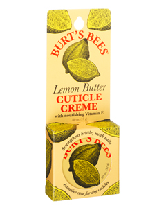 Burt's Bees lemon butter